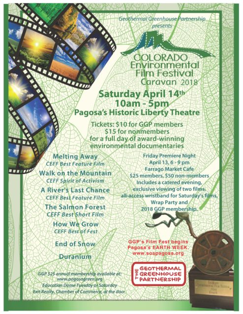2018 Film Festival Flyer